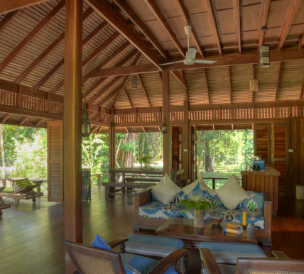 thailand eco resort house interior