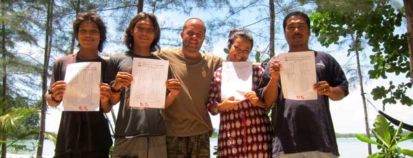 training thai nationals in ecotourism