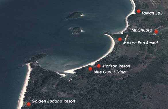 thailand eco resort location